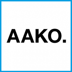 Aako - square -blue